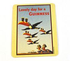 Guinness Bier Bierdeckel Untersetzer Coaster - Motiv Tukane Vögel mit Gläser