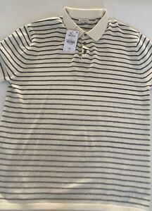 MENS NEXT POLO - ECRU - XL - 30% OFF RRP & FREE UK DELIVERY%%££