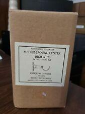 Restoration Hardware Medium Round Center 1 Bracket Gold