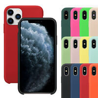 Case For iPhone 11 Pro Max XR XS Max 8 7 Plus Shockproof Silicone Rubber Cover