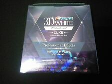 Crest 3D LUXE Whitestrips Professional Effects 20 pouche with 40 strips