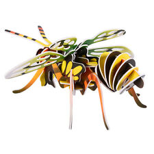 HOT 3D DIY Jigsaw Paper Puzzle Insect-Bee Model Kids Children Education Toy Gift
