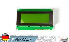 I2C 2004 20x4 Zeichen LCD Display HD44780 gelbes BL für Arduino Raspberry Pi
