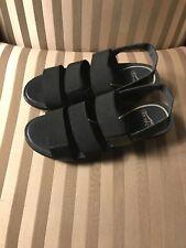 New Dansko Womens Sz 38 Shoes Sandals Diandra Black Sling Back