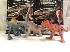 Jurassic World Mini Action Dino Brachiosaurus Ceratosaurs Metallic Spinosaurus