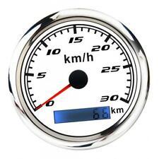 GPS Tachometer Geschwindigkeitsmesser Kilometerzähler, für Motorrad Boote Yacht