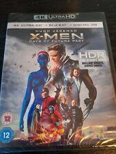 X-MEN - DAYS OF FUTURE PAST (4K ULTRA HD + BLU RAY) NEW SEALED