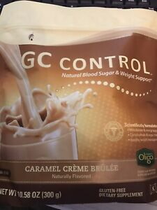 MELALEUCA GC CONTROL CARAMEL CREME BRULEE BLOOD SUGAR & WEIGHT SUPPORT