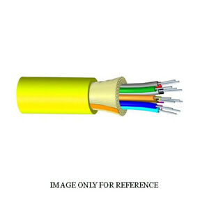 1000' COMMSCOPE 760004333 6F OS2 Single Mode Gelfree Yellow Plenum TB Cable