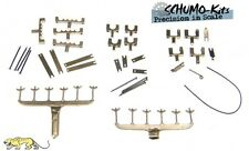 Schumo-Kits 1/16 Tamiya German Tiger I Metal Tow Cable Holder Set (TI0021)