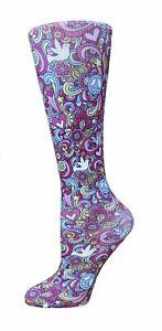 Cutieful Moderate Compression Socks Knit 10-18 mmHg Wide Calf
