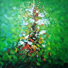 Saetta colorata quadro - Dipinto a olio telaio in legno