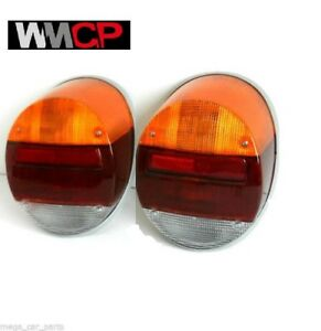 VW VOLKSWAGEN BEETLE[1303][1200] 1973-1979 PAIR REAR TAIL LAMP LIGHT SET LH+RH