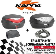 Ducati Monster 2011 2012 2013 KAPPA Coffre K466+KZ780+KM5M + Dos