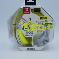 HORI Gaming Headset High Grade for Nintendo Switch Pikachu POP ver. Japan Import