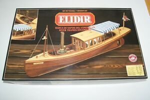 Constructo Elidir Thames River Steamboat Wooden Boat Model Kit #80816