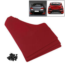 Universal Car Red Mudflaps Mud Flaps Set of 4 Front & Rear Auto Accessories