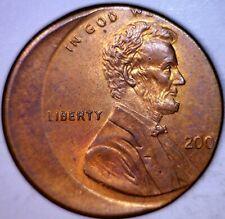 Way Off Center 200x Date Lincoln Memorial Penny MAJOR U.S. Mint Error Coin BU NR