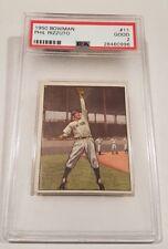 1950 Bowman Phil Rizzuto #11 PSA 2