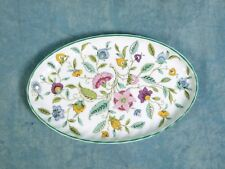 Minton Haddon Hall Fine Bone China Oval Dessert Snack Nuts Tray Dish B1451