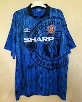 FC MANCHESTER UNITED 19921993 AWAY FOOTBALL JERSEY SOCCER SHIRT VINTAGE