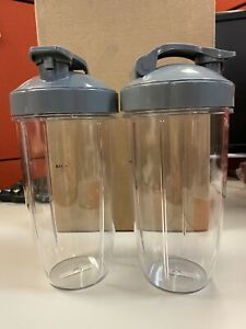 NutriBullet Flip Top To Go Lid with 32oz Tall Cup,Fits Nutribullet 600W 900W Ble