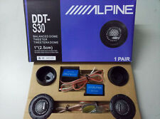 360W 1'' DDT-S30 A Pair Balanced Car Tweeters Enhance Sound Music Soft Dome
