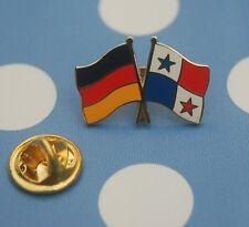 Freundschaftspin Deutschland Panama Pin Button Badge Anstecker Sticker Länderpin
