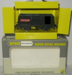 Wrenn Railways OO Gauge Trial Wagon Black Advertising Mineral Wagon