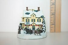 Bradford Editions Ornament Kinkade's Winter Memories Home For The Holidays 2000