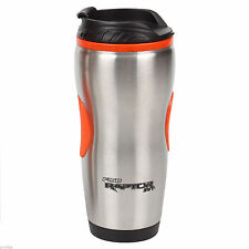 NEW FORD F150 RAPTOR SVT HOT OR COLD STAINLESS STEEL TRAVEL MUG TUMBLER W GRIPS!
