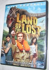 Land of the Lost DVD, 2009 Will Ferrell Universal Comedy FREE SHIPPING U.S.A
