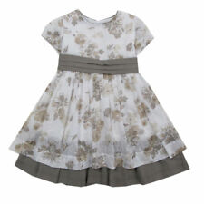 Kleid Kinder Mädchen Tunika Festlich Ärmellos Kleider Glitzersteinchen 30253