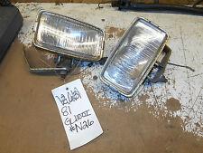 honda gl1100 goldwing interstate 1100 driving fog lights lamps  82 83 1980 81