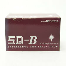 Zenza Bronica SQ-B Medium Format Camera with Zenzanon-PS/B 80mm lens kit New!