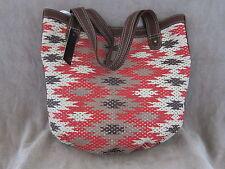 ECKO RED Womens Thunder Bird Saddle Designer Tote Handbag Shoulder Purse NWT