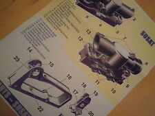 SA80.SUSAT and Iron sight.Information poster.A3 Colour.New.