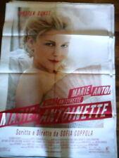 "LOCANDINA FILM ""MARIE ANTONIETTE"" KRISTEN DUNST /DI SOFIA COPPOLA - F.TO 140X100"