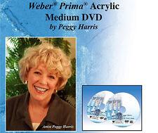 ACRYLIC PAINTING MEDIUMS & USES DVD feat Peggy Harris, BEST DVD ON ACRYL MEDIUMS