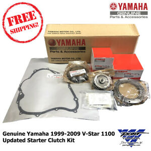 OEM 1999-2009 YAMAHA V STAR 1100 UPDATED STARTER CLUTCH KIT VSTAR XVS1100