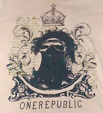 ONE REPUBLIC (Band) Gas Mask Crown T-Shirt - XL - Music Pop