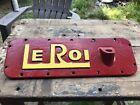 Le Roi Antique Tractor Part Farm Advertising Cast Iron Unknown Piece # 14-871