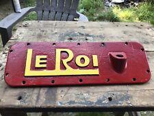 Le Roi Antique Tractor Part Farm Advertising Cast Iron Unknown Piece 14 871