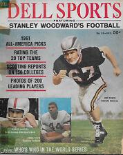 1961 Dell Sports - Stanley Woodward's Football  ERNIE DAVIS-MERLIN OLSON-GABRIEL