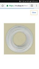 "50 Ft : Food Grade Plastic Flexible Pipe/Tube 1/4"" For RO/UV Water Purifier"