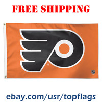 Deluxe Philadelphia Flyers Logo Flag Banner 3x5 ft 2019 NHL Hockey Fan Gift NEW
