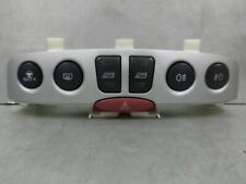 Fiat Punto Front and Rear Fog Hazard Switch Panel Silver Mk2 B 2003-2005 Reg