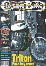 BSA Rocket-3 450 Ducati Scrambler Matchless Super Clubman Kawasaki Z1 Triton Zed