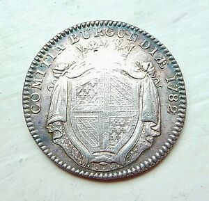 jeton argent BOURGOGNE 1782