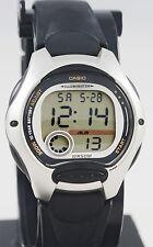 Casio LW-200-1AV Ladies Black Digital Watch LED Light Sports Alarm Brand New